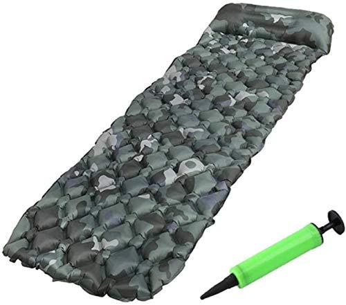 PRIDE S Tragbarer Luftmatratze Einzel Mit Kissen Egg Nest aufblasbaren Kissen-Zelt Isomatte Isomatte Feuchtraum-Matte