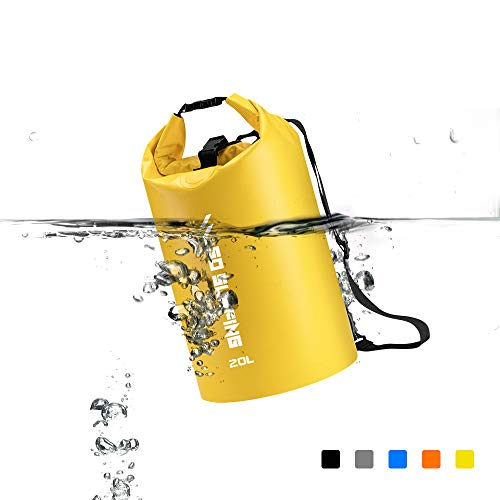 CBRSPORTS Waterproof Dry Bag Sack Floating for Protecting Food and Gear - 5L