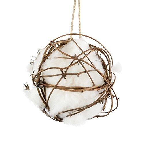 Gardigo Nistmaterial für Vögel | Nestmaterial aus Baumwolle zum Aufhängen | Vogelnesthilfe für Gartenvögel wie Rotkehlchen und Meisen | Einfach wieder nachfüllen