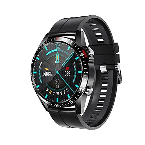 ZGZYL V1 Men's Smart Watch Llamada Bluetooth, Rastreador De Fitness Reloj Deportivo con Presión Arterial / O2 / Monitor De Frecuencia Cardíaca, Adecuado para Mujeres Inteligentes De iOS Android