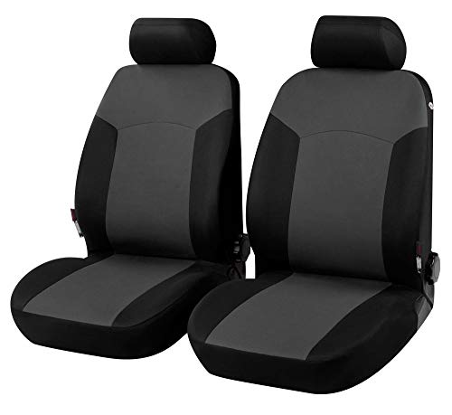 Coprisedili Anteriori DOBLO Versione (2010 - in Poi) compatibili con sedili con airbag, con Fori per i poggiatesta e bracciolo Laterale