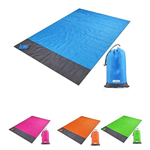 Find Bargain renlisi Practical Foldable Portable Waterproof Sand Proof Outdoor Picnic Blanket Blanke...