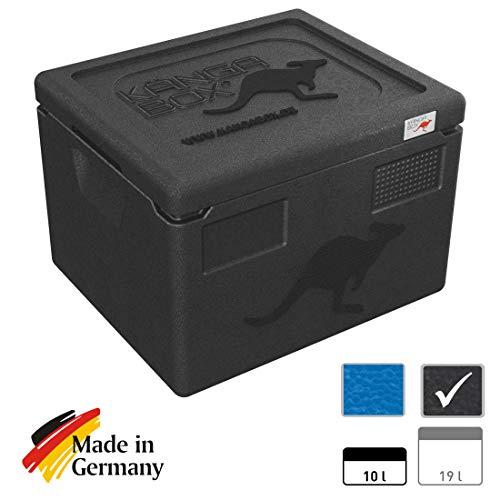 KÄNGABOX®Expert GN 1/2 (schwarz, 19 Liter)