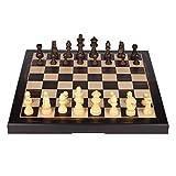 LTCTL ajedrez Juego De Ajedrez Magnético De Madera 13'X13 con Ajedrez Plegable De Ajedrez De Ajedrez Juego De Ajedrez Internacional De Alto Juego de ajedrez (Color : Chess Set)