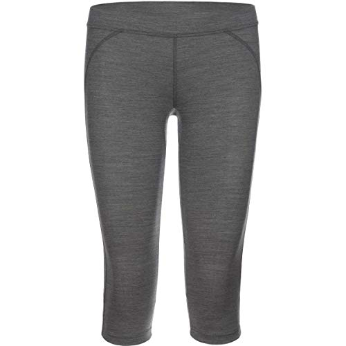 Rewoolution Leggings a 3/4 Race Donna, Charcoal, XS