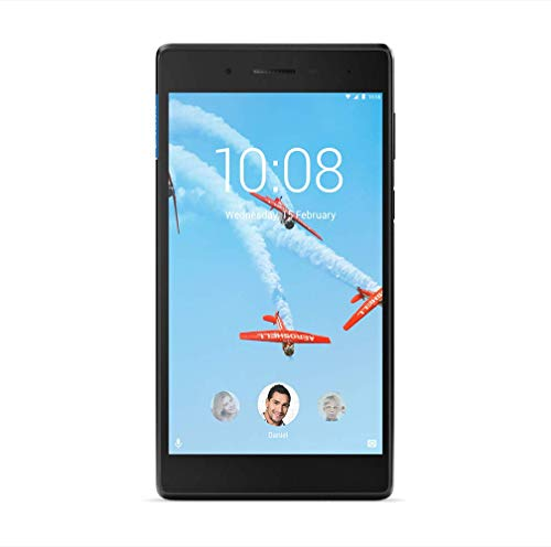 Lenovo Tab 7 Essential TB-7304X - ZA330082EU - Tablet 7' HD, IPS (Procesador MediaTek MT8735D, 1GB RAM - 16GB, Android Nougat 7.0, WiFi / 4G LTE + BT 4.1), Color Negro