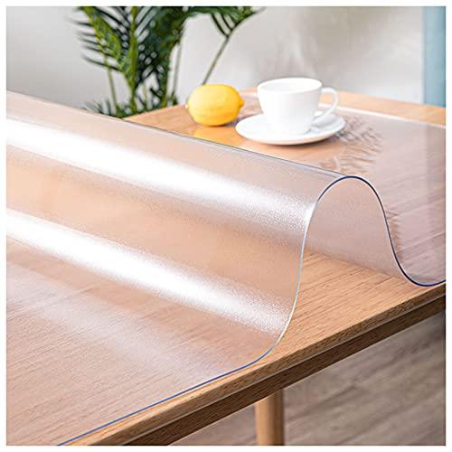 2mm Dik Frosted Pvc, Tafelbeschermer, Mat Plastic Tafelkleed, Rechthoekige Tafelblad Cover Tafelmat Voor Bijzettafel,60x60cm/23.6x23.6in
