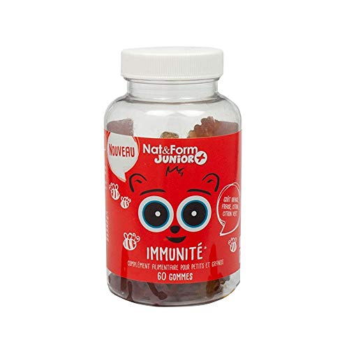Nat & Form - Gums Immunite 60 Oursons Junior Nat&form