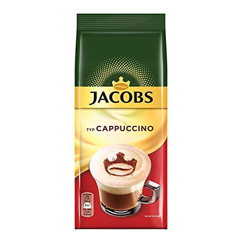 Jacobs Cappuccino, Kaffeespezialität, 400 g Nachfüllbeutel