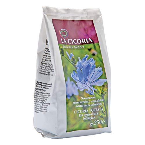 Cicoria biologica del Dottor Mozzi macinata per Moka 4x250 g - GLUTEN FREE