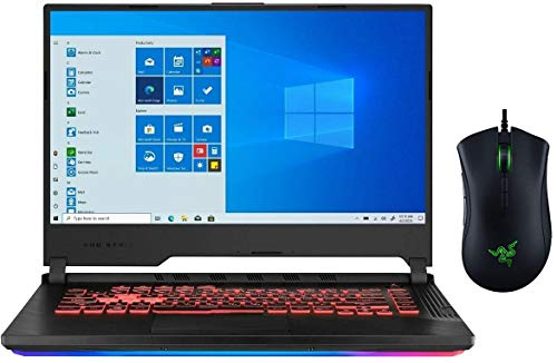 Newest ASUS ROG Strix G 15.6' FHD Gaming Laptop | Intel 6-Core i7-9750H | 16GB RAM | 512GB PCIe SSD | NVIDIA GeForce GTX 1650 | Backlit Keyboard | Included: Gaming Mouse | Windows 10