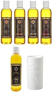 ガーネッシュ GONESH ウォーミングセント5つ(No.4、8、COCONUT、RASPBERRY、SANDALWOOD) の香りが楽しめるアロマバーナーセット 日本国内正規品