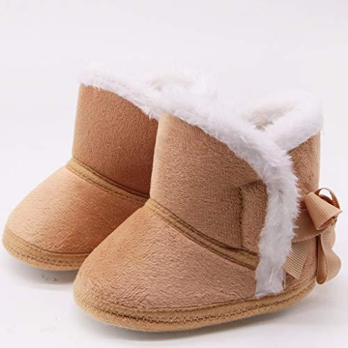 DWQuee ❤️ Baby Weiche Sohle Schneeschuh, Winter Kinderschuhe Winter Baby Jungen Mädchen Schuhe rutschfeste Kleinkind Schnee Warme Prewalker Schuhe