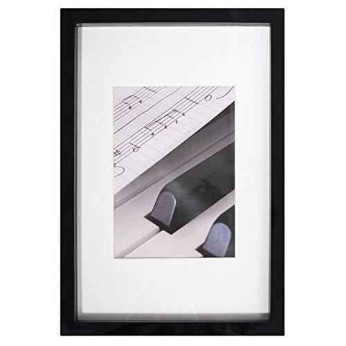 Henzo Piano Bilderrahmen, Holz, Schwarz, Bildformat 20x30 cm