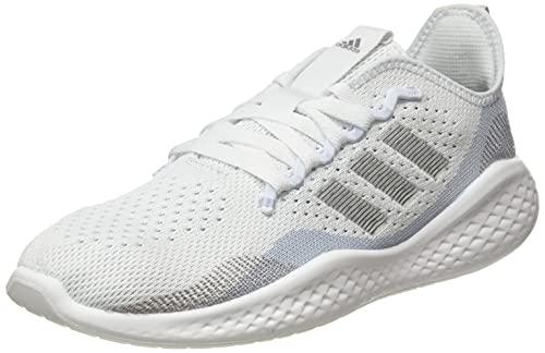 adidas Fluidflow 2.0, Scarpe da Running Donna, Bianco, Argento, Blu (Ftwbla Plamet Azuhal), 40 EU