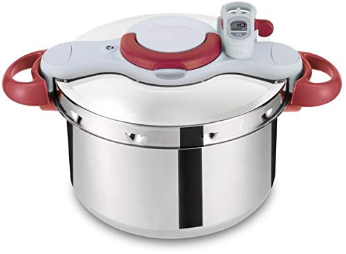 Tefal ClipsoMinut Perfect Schnellkochtopf, 7,5 Liter, P4624831