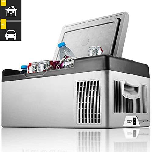 Lieling Mini-koelkast, draagbaar, compact, laag energieverbruik, stil, drankkoelkast, 12 V, 24 V, 220 V, voor alle soorten auto, camping, kantoor, reizen 40L