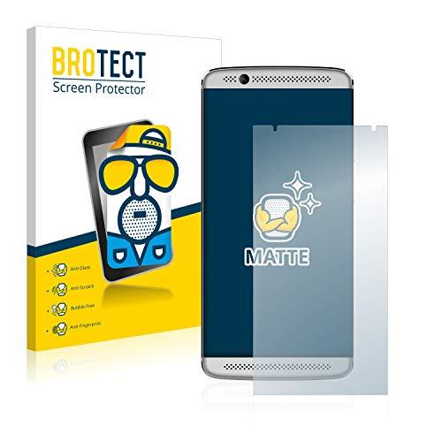 BROTECT 2X Entspiegelungs-Schutzfolie kompatibel mit ZTE Axon 7 Mini Bildschirmschutz-Folie Matt, Anti-Reflex, Anti-Fingerprint