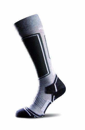 X-Action Silver Chaussettes de ski pour femme, Femme, 940, gris, 6-7
