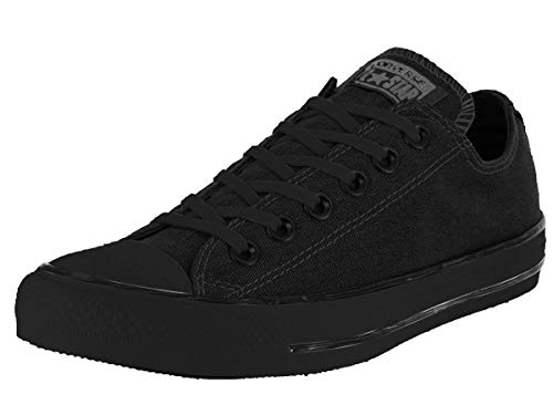 Converse Unisex Chuck Taylor All Star Low Top Black Sneakers - 3 D(M) US