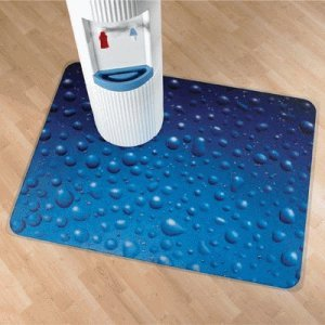 Preisvergleich Produktbild Colortex Bodenschutzmatte Ultimat Hartböden / niederfl. Teppich Wassertropfen 90x120cm