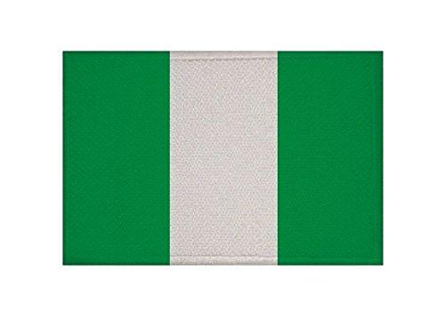 U24 Aufnäher Nigeria Fahne Flagge Aufbügler Patch 9 x 6 cm