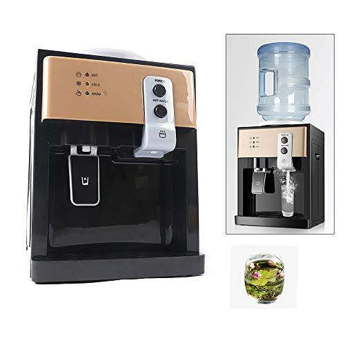 sujrtuj Dispensador eléctrico de agua fría y caliente para el hogar 220V Mini dispensador de agua de escritorio