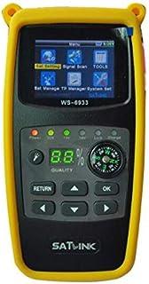 Digital Satellite Finder SATLINK WS-6933 DVB-S2 Finder WS6933 With Flashlight Compass