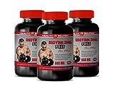 Testosterone Booster Estrogen Blocker - Muscle Mass Supplements for Men - Bodybuilding Pills for Men - Premium Herbal Supplements - dhea Testosterone Booster - rhodiola rosea Supplement Root - 3 Bot