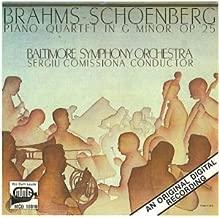 Brahms / Schoenberg: Piano Quartet in G Minor, Op. 25