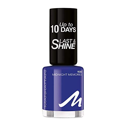 Manhattan Last und Shine Nagellack, Nr.930 Midnight Memories, 1er Pack (1 X 10 ml)