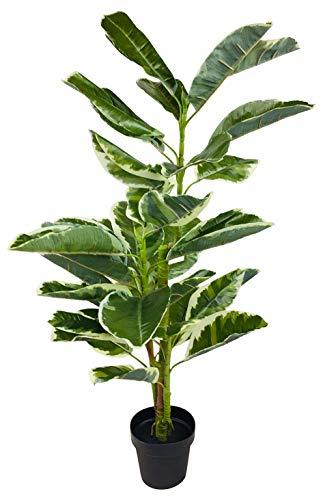 Geko Árbol 1 Pieza Grande 90 cm Caucho Artificial Ficus