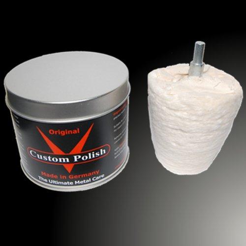 Custom Polish Original para pulido 400 g aluminio cromado ...