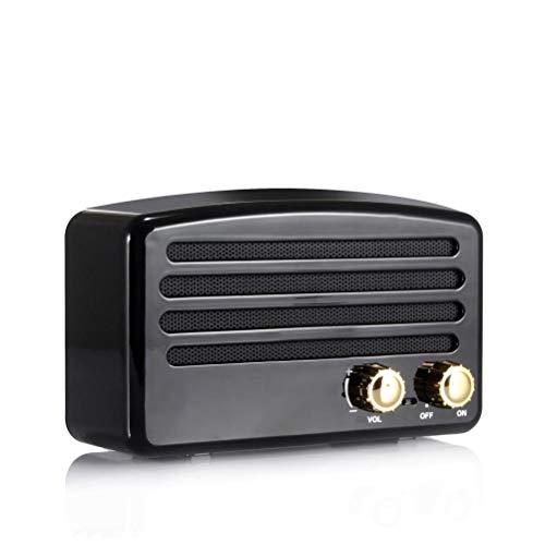 Mini altavoz Bluetooth retro reproductor de grabación portátil Bluetooth audio inalámbrico Gramófono al aire libre Mini altavoz Bluetooth