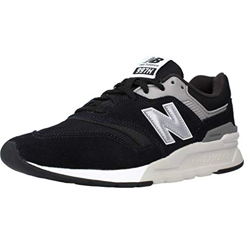 New Balance 997H Core, Zapatillas Hombre, Negro (Black Silver Charcoal), 44 EU