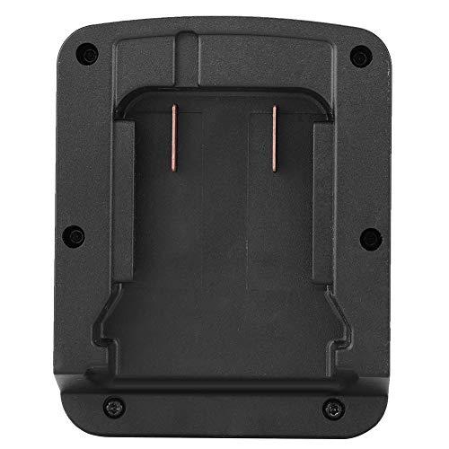 CHENQIAN Adaptador de batería Batería de Iones de Litio M18 para Adaptador de batería Corriente Converte Negro