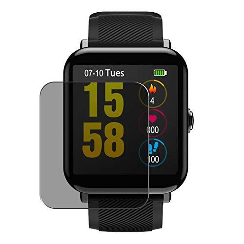 Vaxson Anti Spy Schutzfolie, kompatibel mit OUKITEL W2 1.3 Smartwatch smart watch, Displayschutzfolie Privatsphäre Schützen [nicht Panzerglas]