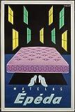 Colchón Epeda Pub Reproducción Póster, tamaño 50 x 70 cm, papel 300 g. Venta del archivo digital HD.