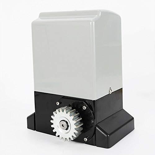 RANZIX Accionamiento eléctrico para puertas correderas, 2000 kg/1200 kg, accionamiento de puerta...