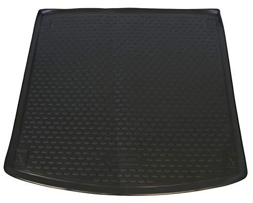 AD Tuning TM30027 Passform Gummi Kofferraumwanne, rutschfest, schwarz