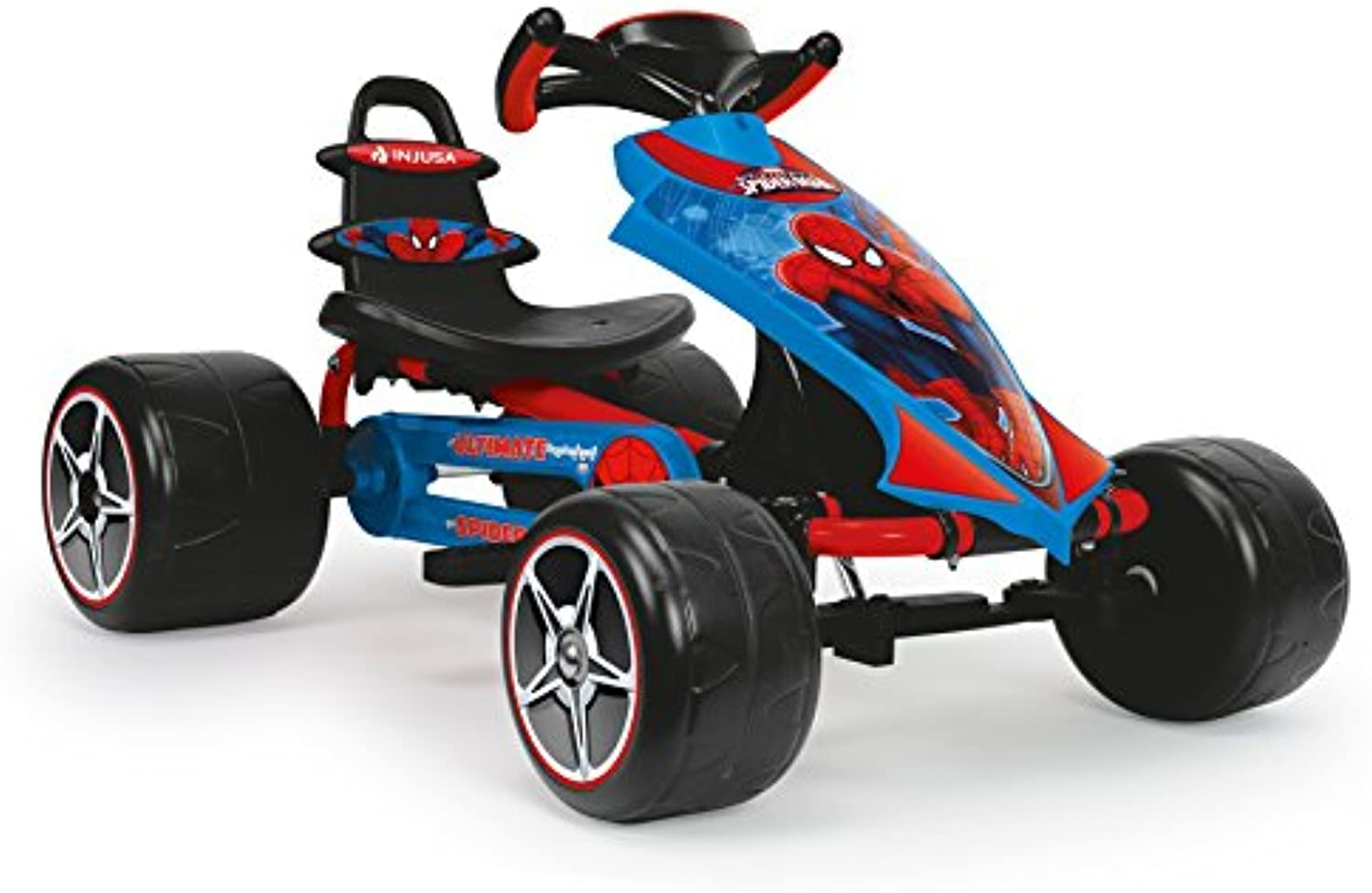 Injusa–Spiderman The Ultimate Go Kart a Pedale (41260)