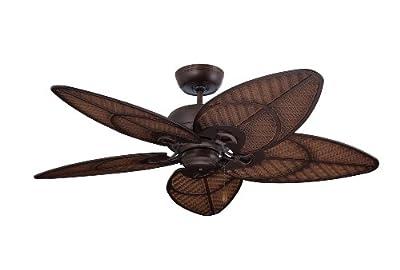 Emerson Ceiling Fans CF621VNB Batalie Breeze 52-Inch Indoor Outdoor Ceiling Fan, Wet Rated, Light Kit Adaptable, Venetian Bronze Finish