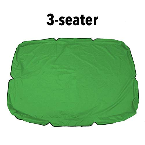Foliner - Toldo de repuesto para silla de columpio impermeable para camping, columpio, techo al aire libre, patio, bloqueo UV, para exteriores
