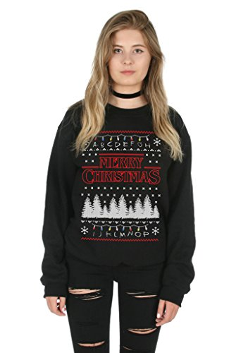 Sanfran - Merry Christmas Ugly Xmas Stranger Things Festive