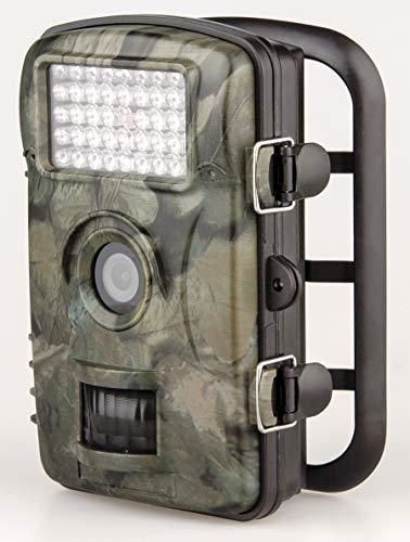 Alessio Wildkamera 12MP 720p mit Infrarot-Nachtsicht bis zu 65 Fuß/20 m Wasserdicht für Outdoor-Natur, Garten, Haussicherheitsüberwachung, Überwachung