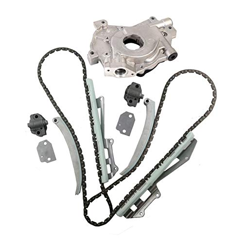 Price comparison product image MOCA Timing Chain Kit with Oil Pump for 1997-2004 Ford E-150 & Econoline Club Wagon & Ford Explorer & Expedition Mustang & F150 4.6L V8 SOHC