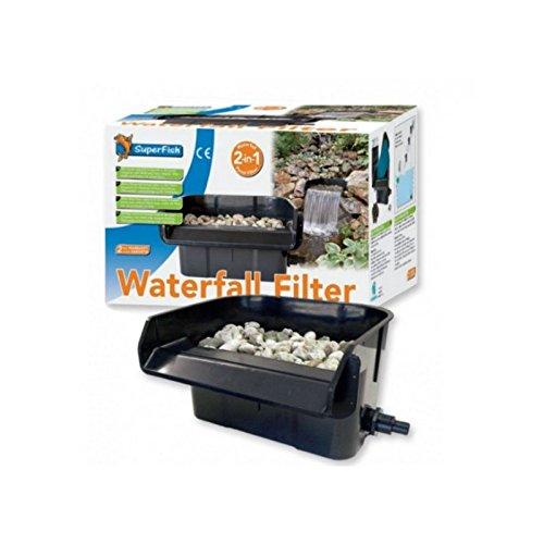 Superfish Wasserfall-Filter, 2in1-Teichfilter für den Gartenteich - 3