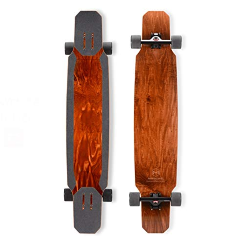 Amazing Deal Scooters Longboard Beginner Professional Board Boys and Girls Dancing Dance Board Brown...