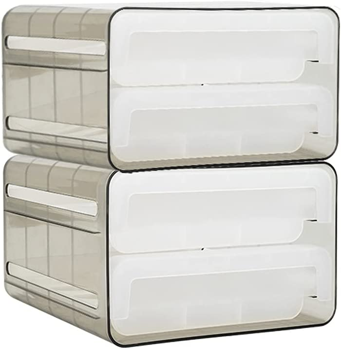 LYUN Canisters 32 Grid Drawer Type Egg Selling Tray Storage OFFicial store Refr Box