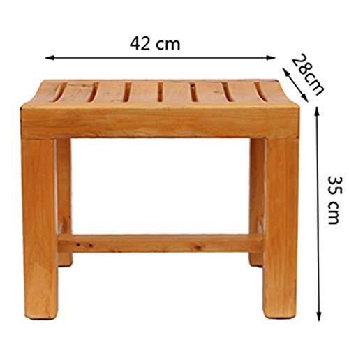 L-DZJUYILXY Douche-badkamer-douche-etalere badkamer-houten douche-stoel waterdichte schemel
